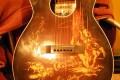 Bridge replacement on G. Autry Cowboy Guitar